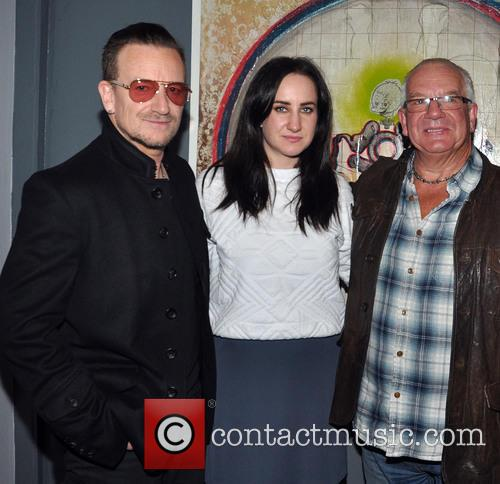 Bono, Leah Hewson and Norman Hewson 2