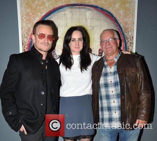 Bono, Leah Hewson and Norman Hewson