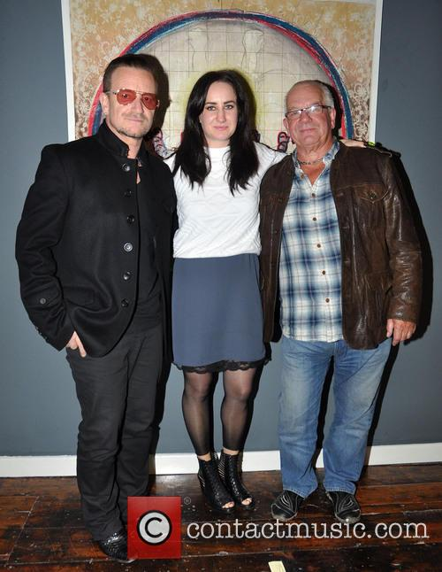 Bono, Leah Hewson and Norman Hewson 5