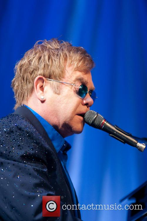 Elton John at Andy Roddick Foundation