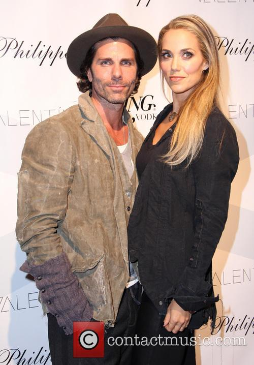 Greg Lauren and Elizabeth Berkley 2