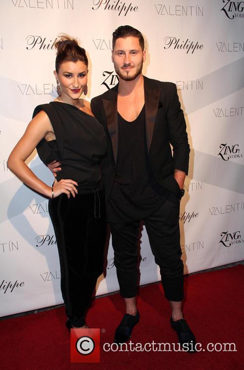 Nicole Volynets and Valentin Chmerkovskiy 4
