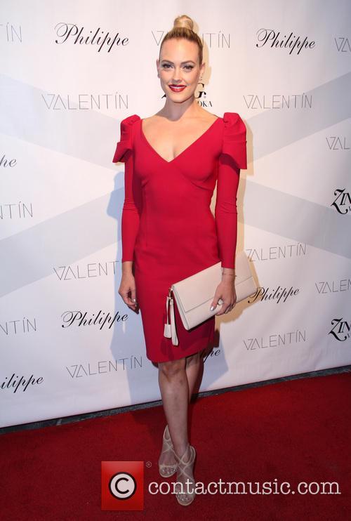 peta murgatroyd celebrities attend a valentin clothing 3911900