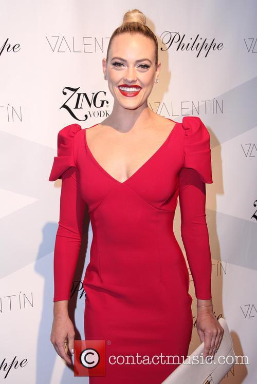 peta murgatroyd celebrities attend a valentin clothing 3911906