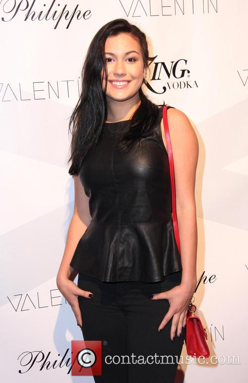 telana nicole celebrities attend a valentin clothing 3911890