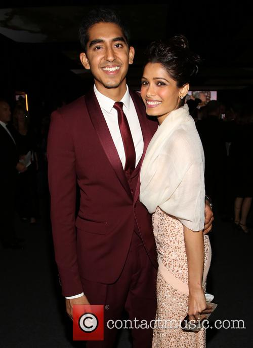Dev Patel and Freida Pinto 2