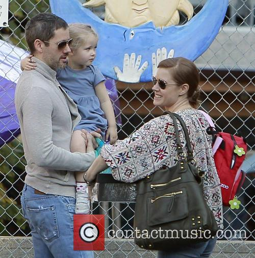 Amy Adams, Darren LeGallo and Aviana LeGallo 3