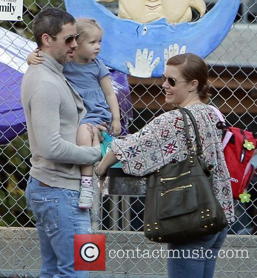 Amy Adams, Darren LeGallo and Aviana LeGallo 8