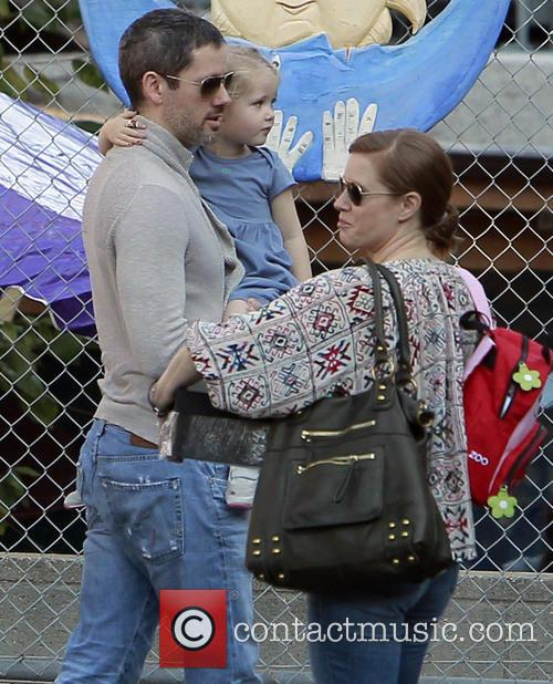 Amy Adams, Darren LeGallo and Aviana LeGallo 11