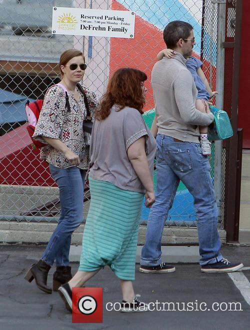 Amy Adams, Darren LeGallo and Aviana LeGallo 12