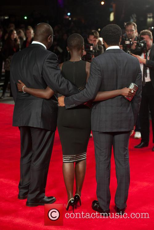 Steve Mcqueen, Lupita Nyong'o and Chiwetel Ejiofor 6