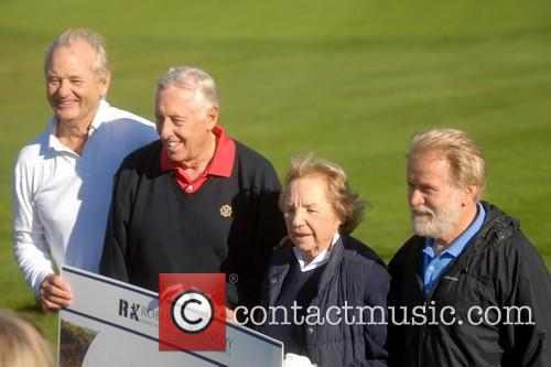 Bill Murray, Congressman Steny Hoyer, Ethel Kennedy and Martin Sheen 6