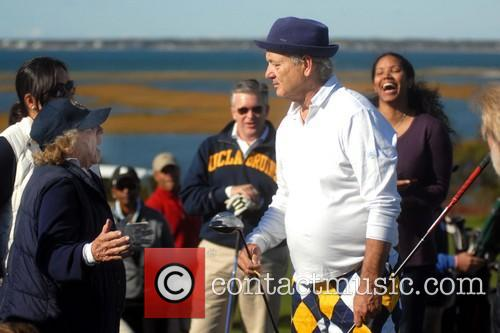 Ethel Kennedy and Bill Murray 4