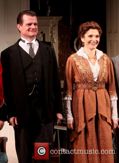 Opening night of The Winslow Boy-Curtain Call