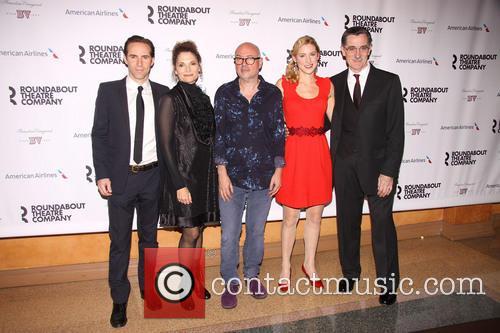 Alessandro Nivola, Spencer Davis Milford, Lindsay Posner, Charlotte Parry and Roger Rees 2