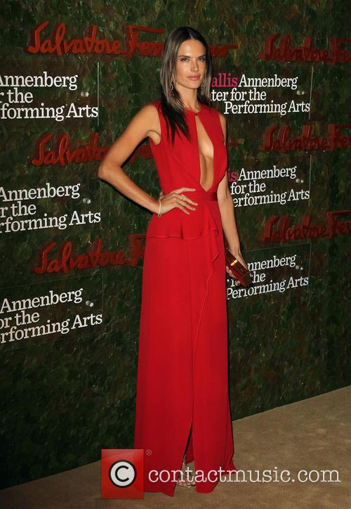 alessandra ambrosio wallis annenberg center for the 3911616