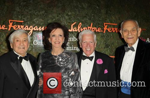 Wallis Annenberg, Fred Hayman, Murray Pepper, Vicki Reynolds and Jerry Magnin 9