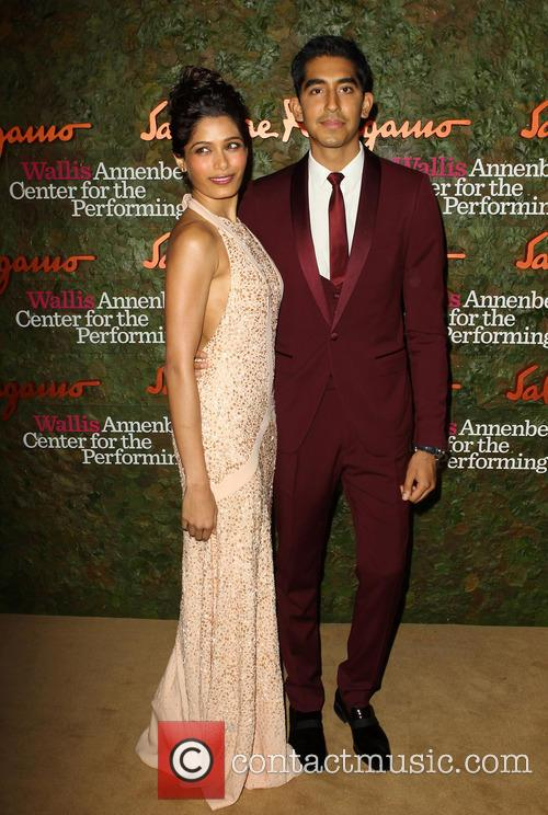 Freida Pinto and Dev Patel 3