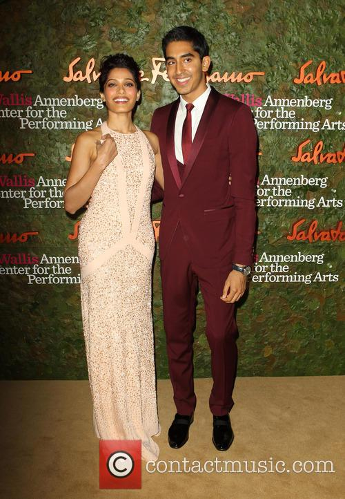 Freida Pinto and Dev Patel 8