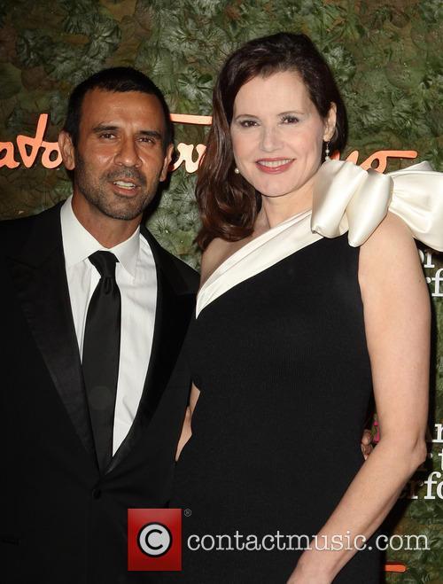 Geena Davis and Reza Jarrahy 2