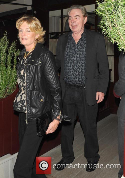 Andrew Lloyd Webber and Madeleine Gurdon 2