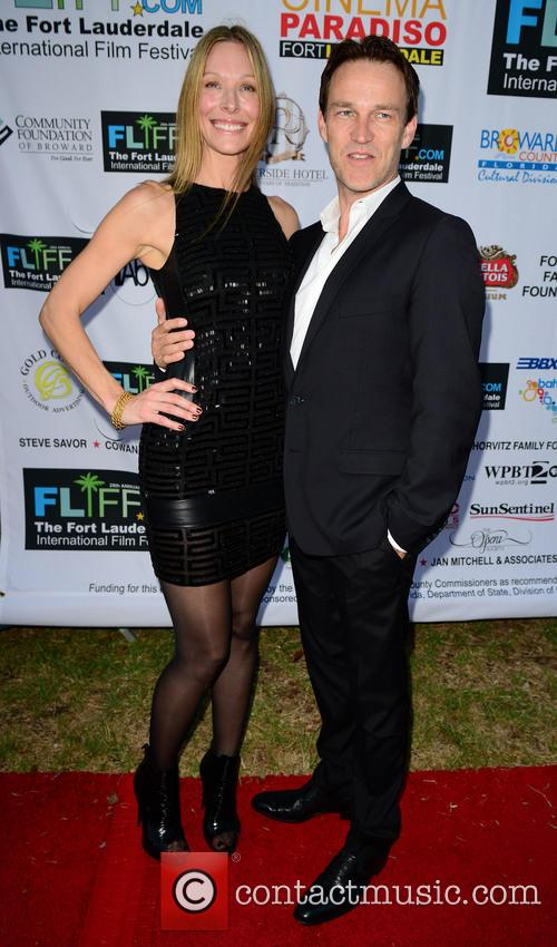 Shana Betz and Stephen Moyer 1