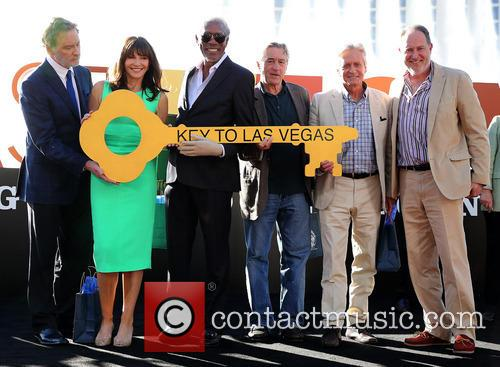 Kevin Kline, Mary Steenburgen, Morgan Freeman, Robert De Niro, Michael Douglas and Jon Turteltaub 3