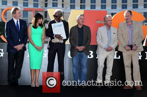 Kevin Kline, Mary Steenburgen, Morgan Freeman, Robert De Niro, Michael Douglas and Jon Turteltaub 4