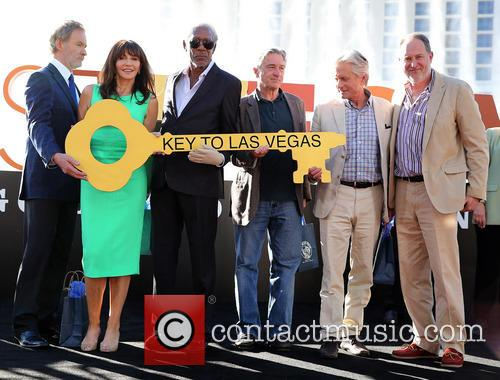Kevin Kline, Mary Steenburgen, Morgan Freeman, Robert De Niro, Michael Douglas and Jon Turteltaub 5