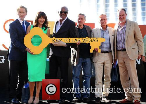 Kevin Kline, Mary Steenburgen, Morgan Freeman, Robert De Niro, Michael Douglas and Jon Turteltaub 1