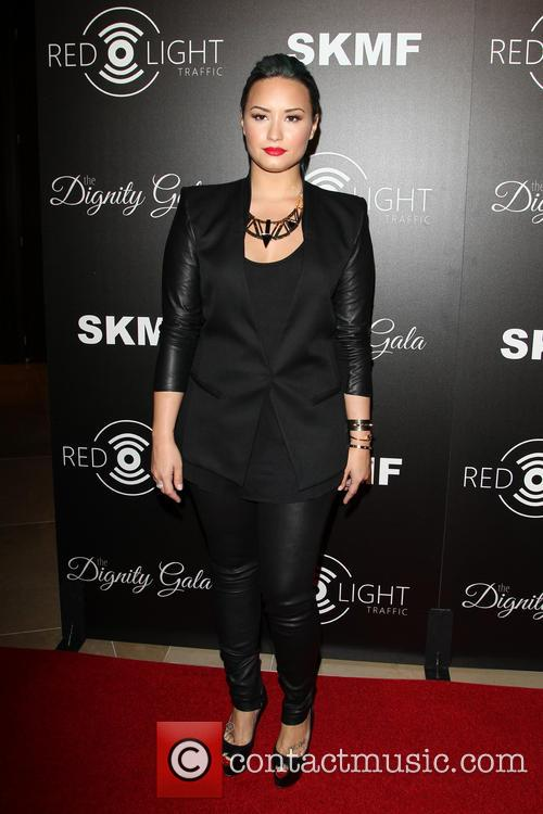 Demi Levato at The Redlight Traffic Dignity Gala...