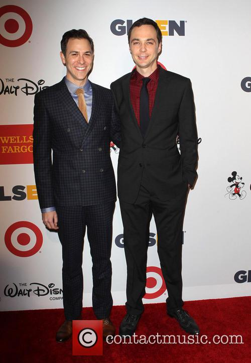 Todd Spiewak and Jim Parsons 2