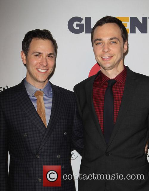 Todd Spiewak and Jim Parsons 1