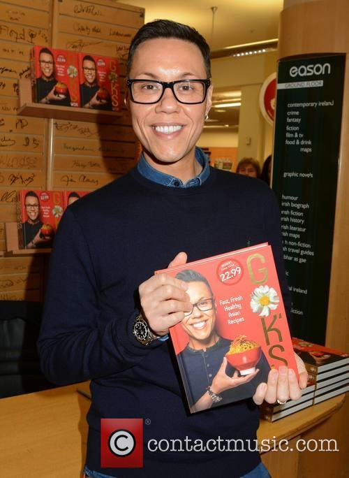 Gok Wan signs copies of his book