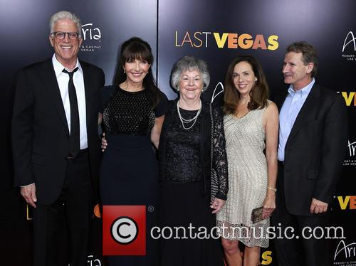 Ted Danson, Mary Steenburgen, Aunt Freida, Nancy Kelly and Guest 4