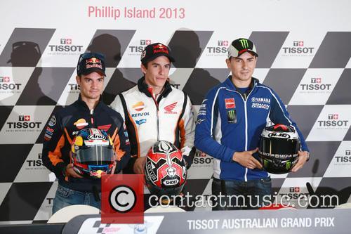 Jorge Lorenzo, Marc Marquez and Dani Pedrosa 6