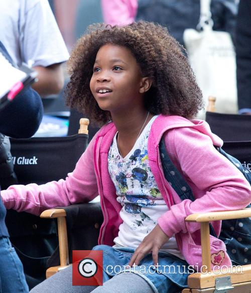 Quvenzhane Wallis star of the new 'Annie' movie