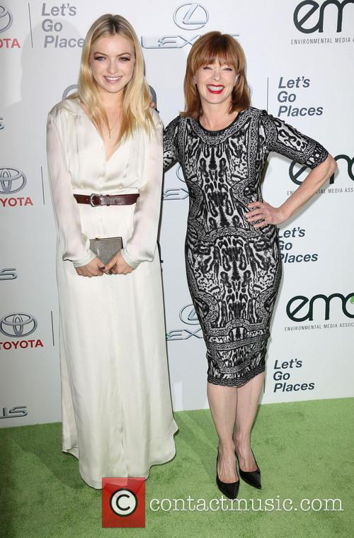 Francesca Eastwood and Frances Fisher 4