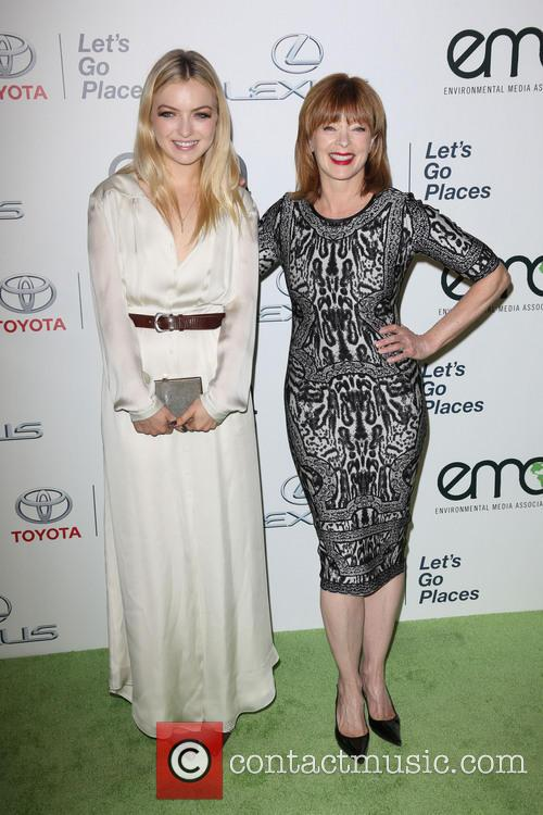 Francesca Eastwood and Frances Fisher 9