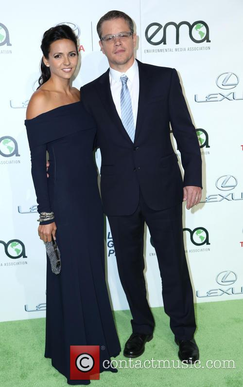 Luciana Damon and Matt Damon 5