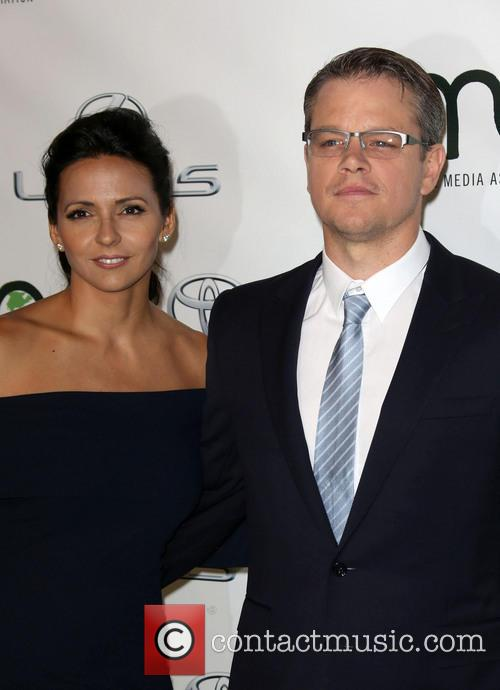 Luciana Damon and Matt Damon 6