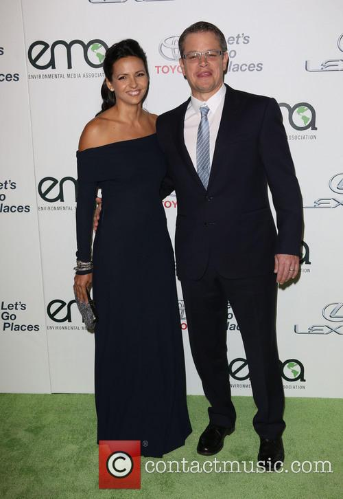Luciana Damon and Matt Damon 8
