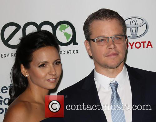 Luciana Damon and Matt Damon 9
