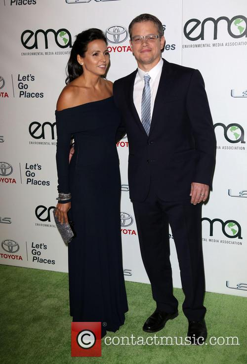 Luciana Damon and Matt Damon 10