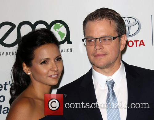 Luciana Damon and Matt Damon 11