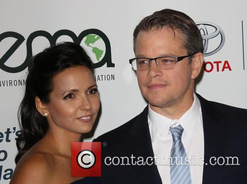 Luciana Damon and Matt Damon 12