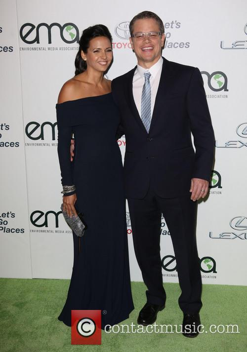 Luciana Damon and Matt Damon 13