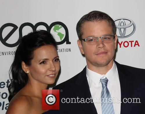 Luciana Damon and Matt Damon 14