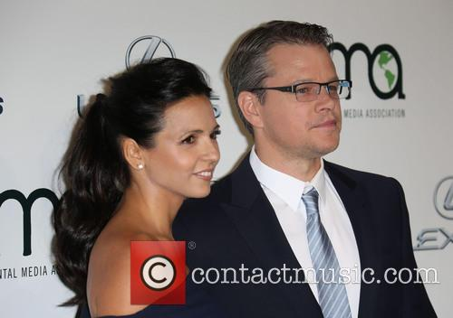 Luciana Damon and Matt Damon 15