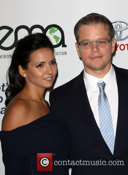 Luciana Damon and Matt Damon 16
